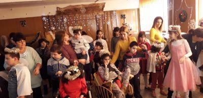 Новогодишно тържество  - ЦСОП - Кубрат